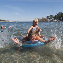 Deilig badevann i Grimstad Foto Fiske grimstad Peder Austrud©Visit Sørlandet