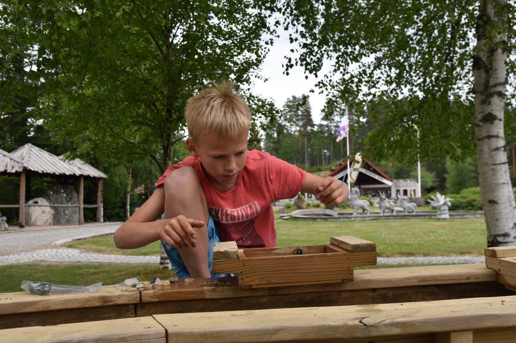 Så mye å finne på i Mineralparken. Foto: Elisabeth Høibo©Visit Sørlandet