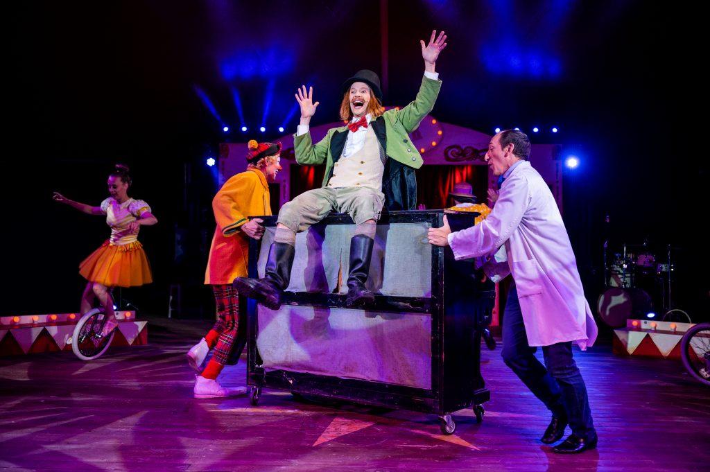 Sirkus Jesper får ny forestilling