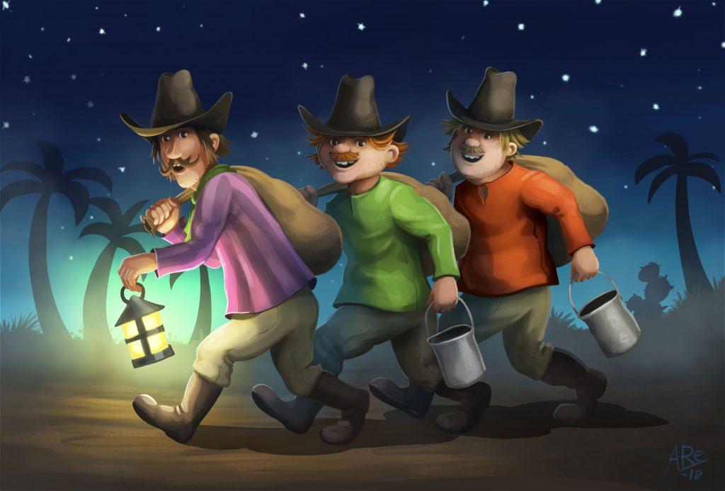 Qvisten animasjon skal skape nyt liv til karakterene i Kardemomme By.