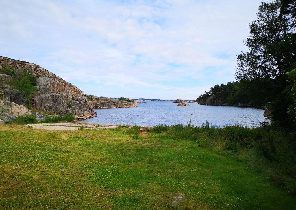 Bendiksbukta, Odderøya Kristiansand