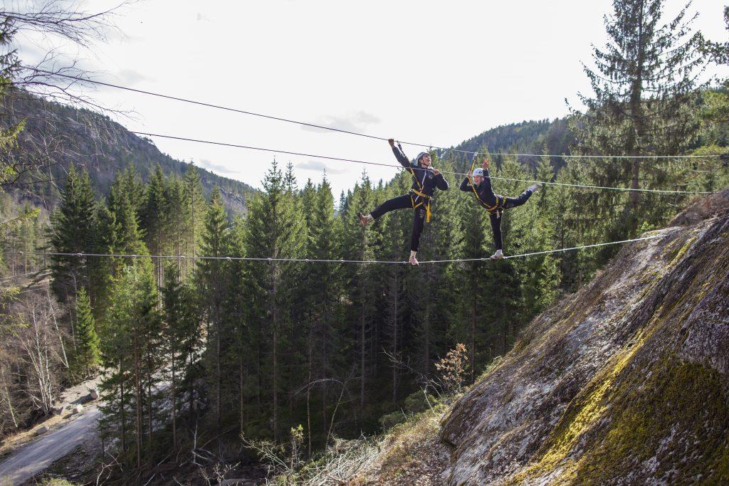 Ny via ferrata på Adventure Norway