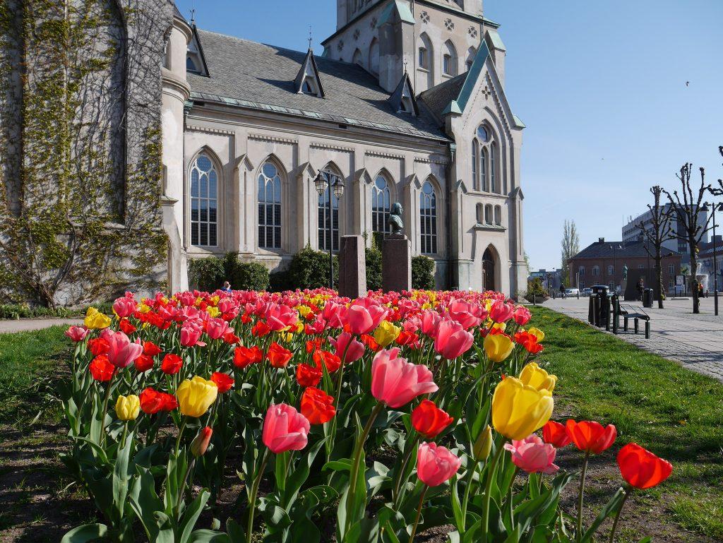 Kristiansand Domkirke holder åpen kirke. Foto: Elisabeth Høibo©Visit Sørlandet