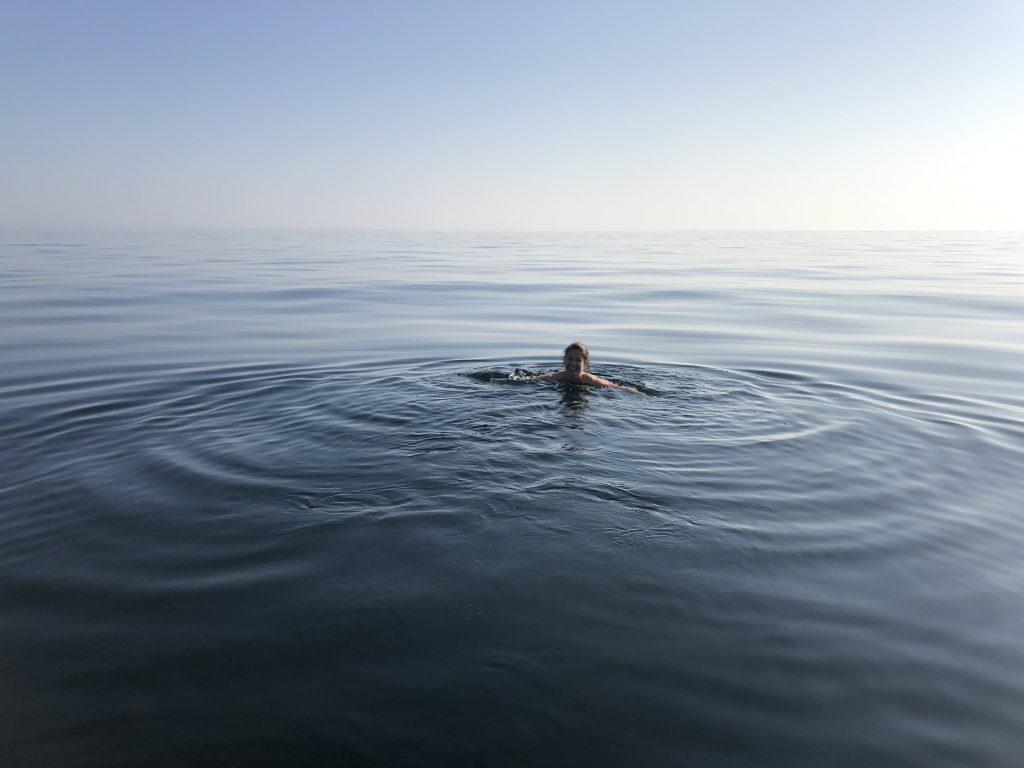 Påske er start av badesesongen på Lindesnes og Norges Sydspiss
